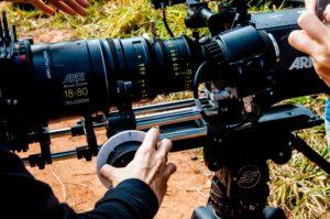 Bastidores do filme Humberto Mauro de Andre Di Mauro produzido pela DIMAURO FILMES