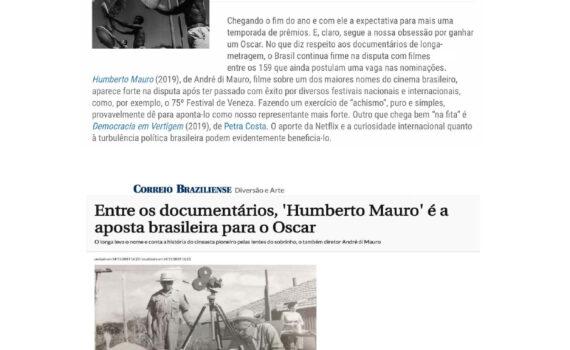 FILME HUMBERTO MAURO DE ANDRE DI MAURO APOSTA BRASILEIRA PARA O OSCAR